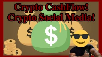 Crypto CashFlow! Crypto Social Media! How much I've made so far?!