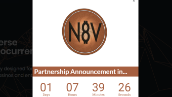 N8V Partnership to be announced tomorrow!
