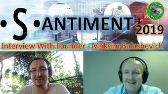 Santiment 2019 - Crypto Trends & Signals Analysis - With SAN Founder Maksim Balashevich