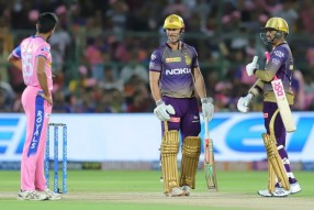 KKR win by 8 wickets against RR.