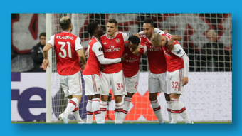 A Solid Away Win for Arsenal Against Frankfurt as They Kick off Their Europa League Campaign with Crucial 3 Points