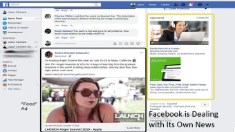 Facebook is Dealing with Its Own News Administration