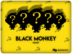 Free Crypto: Earn BANANO by Playing Faucet Games: 'Black Monkey' Round 11 Announcement