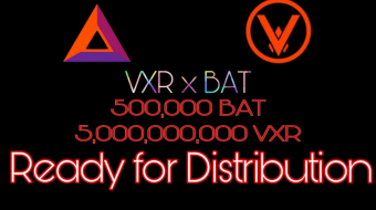 Vexareum - Basic Attention Token Giveaway Vexareum held a Giveaway with Basic Attention Tokens with a total of 100,000 BAT and 400,000 BAT