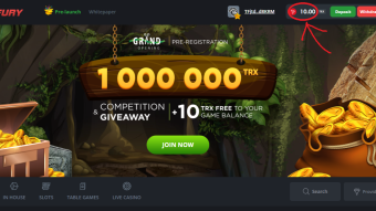 BetFury giveway + FREE 10TRX + 100TRX competition