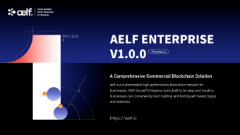 aelf Enterprise V1.0.0 Preview 1 officially released
