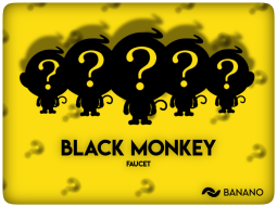 BANANO Faucet Game 'Black Monkey' Round 14 Starts this Saturday (24 Hours Only)!