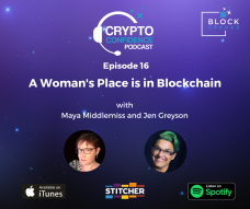 A Woman's Place is in Blockchain!