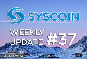 Syscoin Weekly Update #37