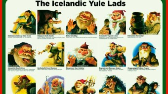Yule: Iceland's 13 Yule Lads, Grýla The Mountain Troll and The Yule Cat