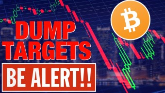 BITCOIN DUMP TARGETS!   BE READY FOR THIS!  MORE BITCOIN BLOOD AHEAD?  IOTA FOUNDER DUMPS HIS COINS!