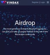 Vindax Airdrop 💰(~$50)