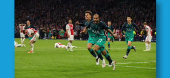 Spurs Make History, As Moura Single-Handedly Takes Them to Reach The Promise Land