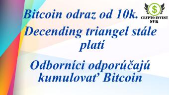Treba si nakumulovať Bitcoin pokiaľ je čas