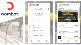 Seamless Onbording, Free EOS Accounts, CPU, and NET with Wombat Wallet