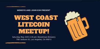 West Coast Litecoin Meet-up LA May 25TH