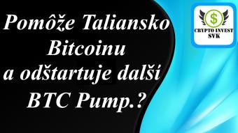 Taliansko možno boostne bitcoin