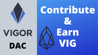Vigor DAC Registration: Contribute and Earn VIG