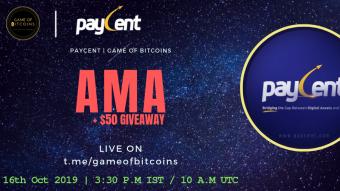 AMA Recap - Paycent x Game of Bitcoins