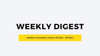 Weekly innovations review (02 Dec - 06 Dec)
