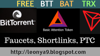 FREE BAT TRON BTT Tokens with Payment proof