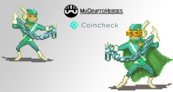 MyCryptoHeroes & Coincheck Collaboration