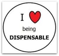 Make yourself Dispensable