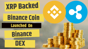 XRP backed Binanace Coin Launched on Binance DEX