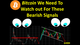 Bitcoin We Need To Watch out For These Bearish Signals