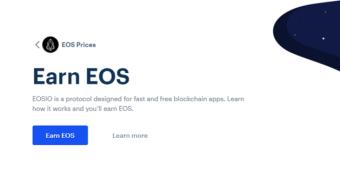 Free EOS at COINBASE ($10)