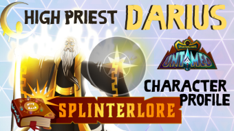 High Priest Darius - Splinterlands Legendary Profile