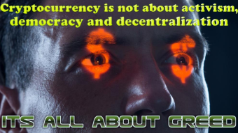 Cryptocurrency Activism is Dead