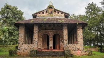 The Debre Birhan Selassie Church, Ethiopia