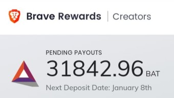 EARN BAT TOKEN WITH BRAVE BROWSER