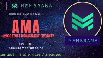 AMA Recap - Membrana x Game of Bitcoins