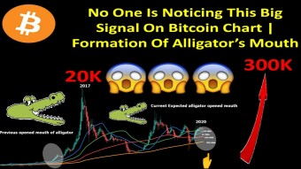 No One Is Noticing This Big Signal On Bitcoin Chart | Formation Of Alligator's Mouth