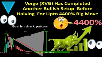 Verge (XVG) Has Completed Another Bullish Setup  Before Halving  For Upto 4400% Big Move