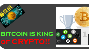 Why Bitcoin is the King of Crypto!!