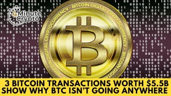 3 Bitcoin Transactions Show Why Bitcoin Isn't Going Anywhere #434