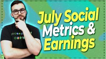 July Crypto & Blockchain Social Metrics & Earnings Report