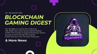 Blockchain Gaming Digest 3/9 August