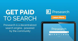 Earn up to 8 Presearch tokens daily!