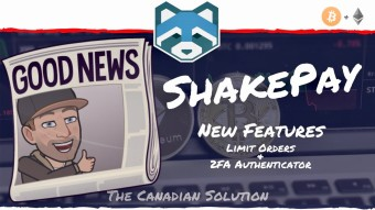 ShakePay Crypto Exchange - New Features, Limit Orders & 2FA Authenticator