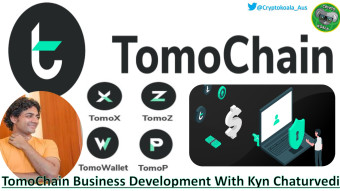 TomoChain Update - Privacy - Decentralised Finance & Exchange - TOMO Development With Kyn Chaturvedi