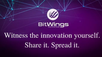 BitWings Token, a native currency of Wings Mobile ecosystem, with 100% guaranteed issuing value.