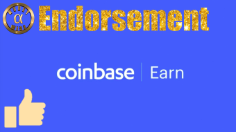 Learn About Crypto With Coinbase Earn! (Endorsement)