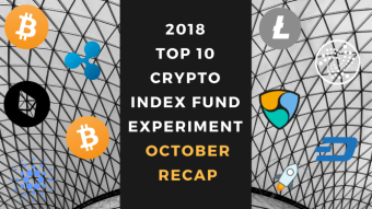 EXPERIMENT - Tracking Top 10 Cryptocurrencies for Two Years (2018 & 2019) - Month Twenty-Two - Down 81%