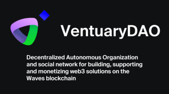 VentuaryDAO is the #BestDApp to Crowdfunding for Waves Projects