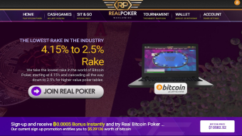 Sign-up and receive ₿0.0005 Bonus Instantly and try Real Bitcoin Poker