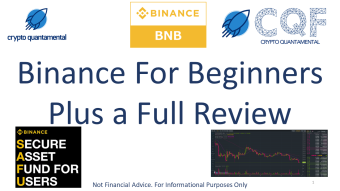 Binance For Beginners (Plus a Review!)